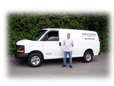 Mobile Auto Locksmith Van for when you need a car key locksmith